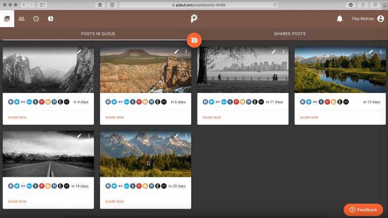 Pixbuf: česká služba, která umožňuje efektivní správu fotografií s rychlým uploadem na sociální sítě