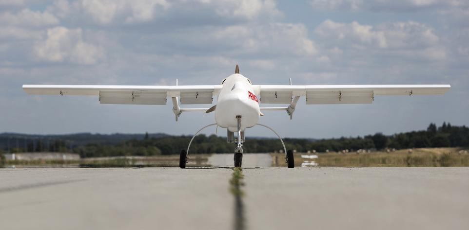 Český startup Primoco UAV představil nový model svého bezpilotního letounu