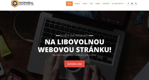 Shopareal: česká platforma, která umí vložit produkty z e-shopů na jakoukoliv stránku