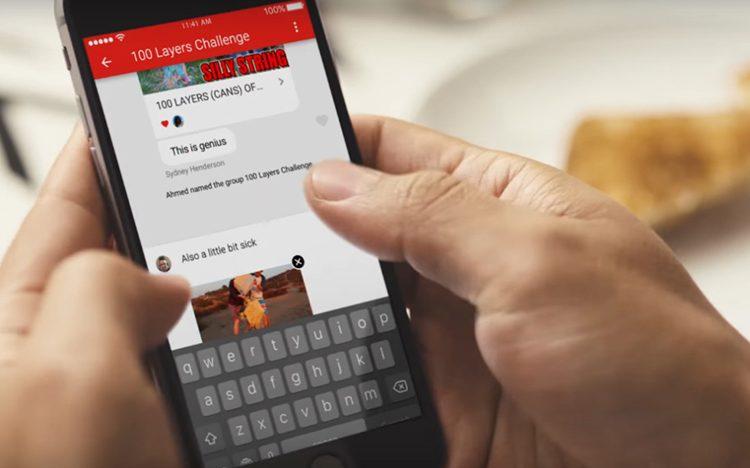 YouTube do své mobilní aplikace integroval vlastní Messenger