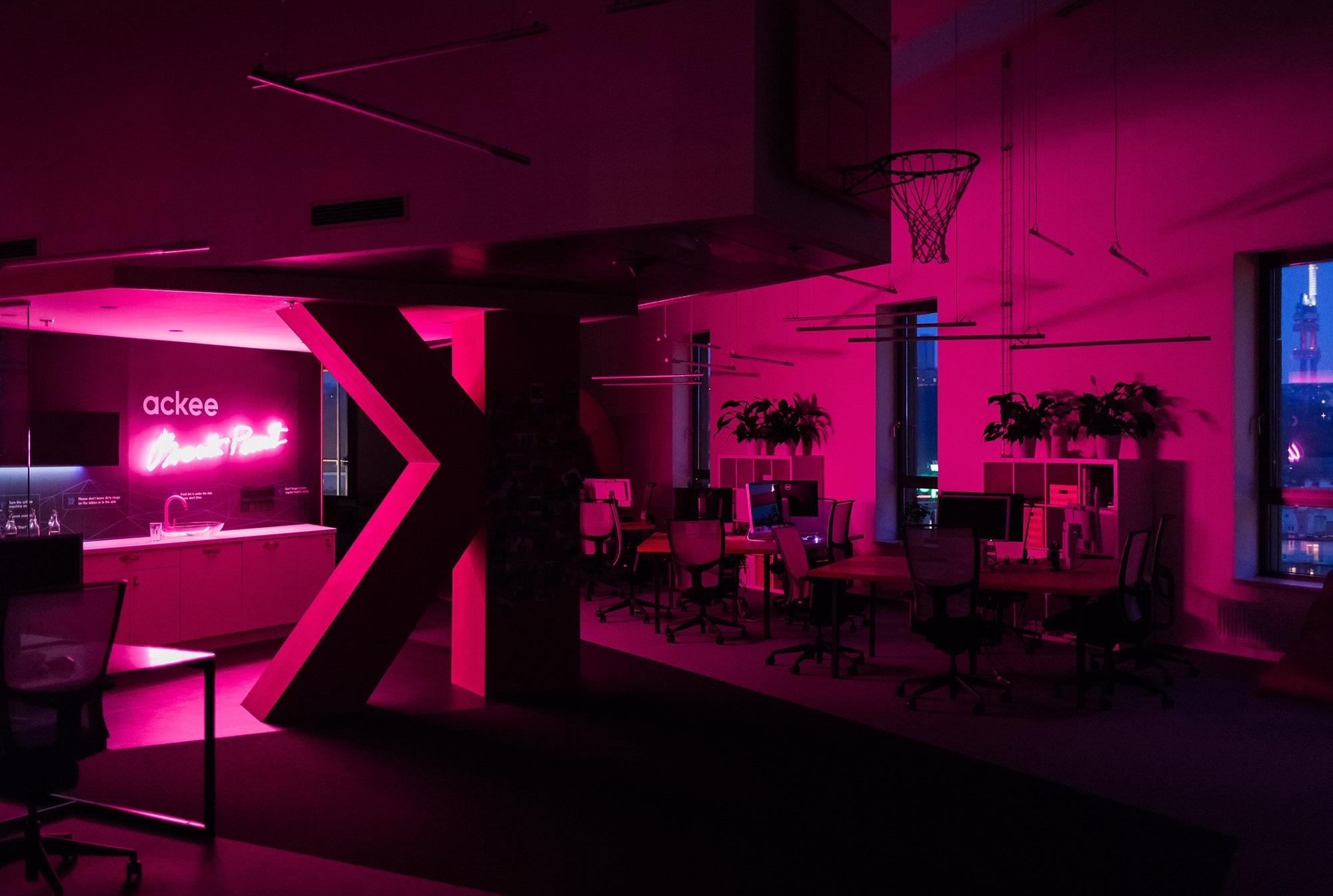 Neonové osvětlení