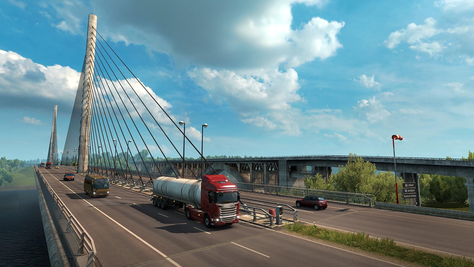 Euro Truck Simulator 2, dílo českého studia SCS Software
