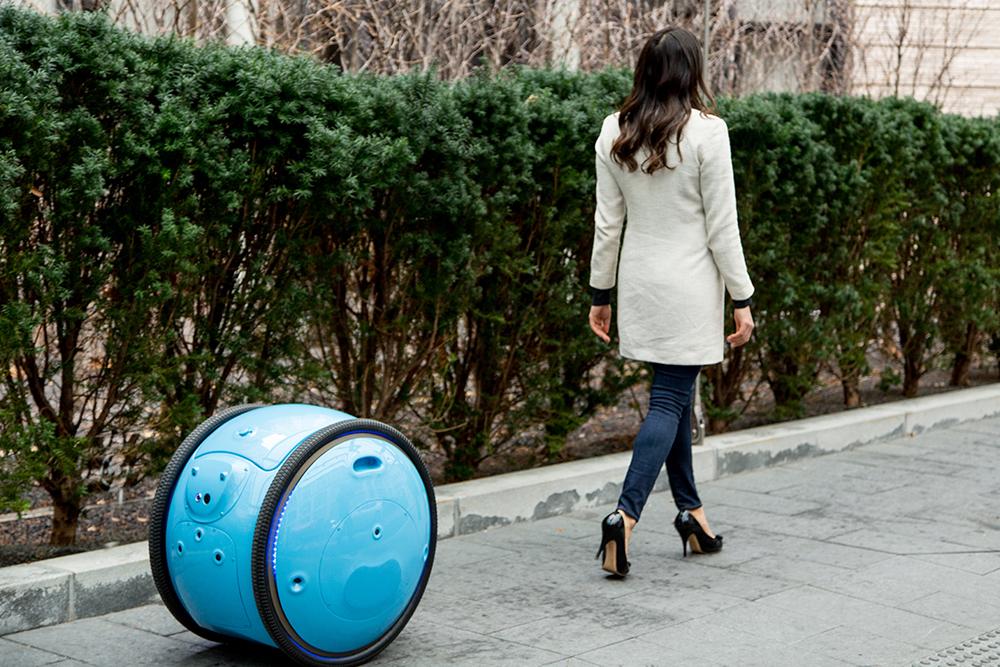 Gita má díky senzorům zvládnout bezproblémový provoz v reálném provozu