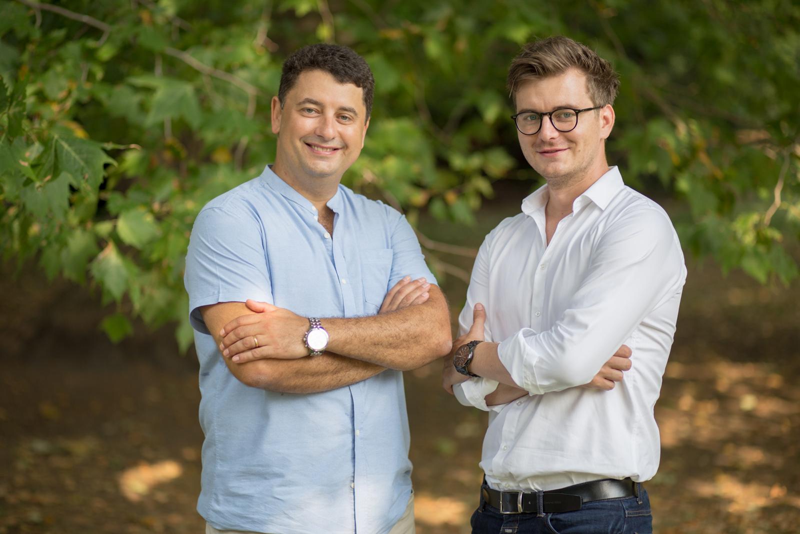 Juraj Atlas a Ondřej Krátký (CEO), spoluzakladatelé Liftaga