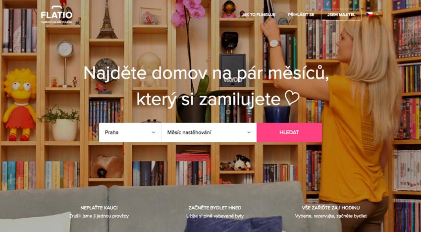 Český startup Flatio získává od INCOMMING Ventures investici v řádu milionů Kč