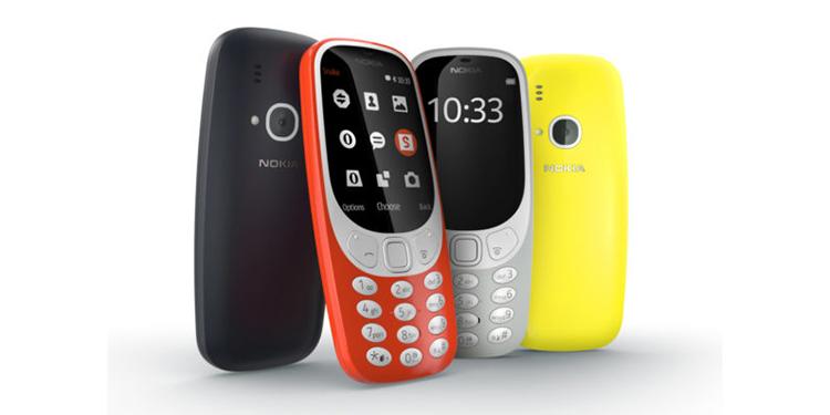 Legendární Nokia 3310 je zpět a má i hada