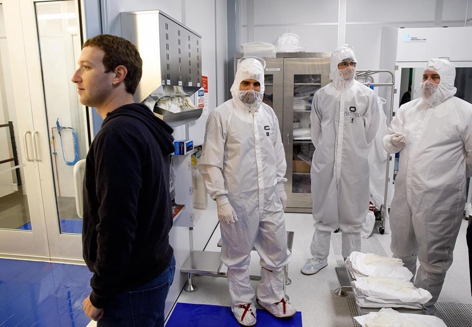 Místnost, která odfiltruje částice 1000x menší než smítko prachu