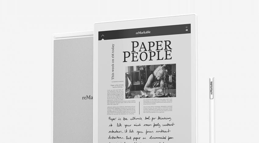 reMarkable: tablet, který zvládne dokonale napodobit papírový povrch pro čtení i psaní