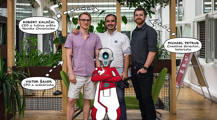 Český komiksový startup Nanits Universe chce na Kickstarteru vybrat 780 tisíc korun