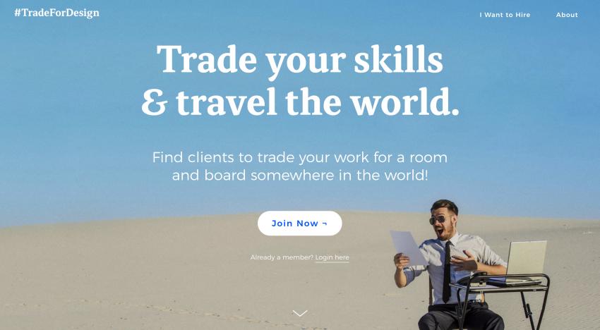 Díky této platformě se můžete ubytovat v cizí zemi výměnou za design nebo kódování
