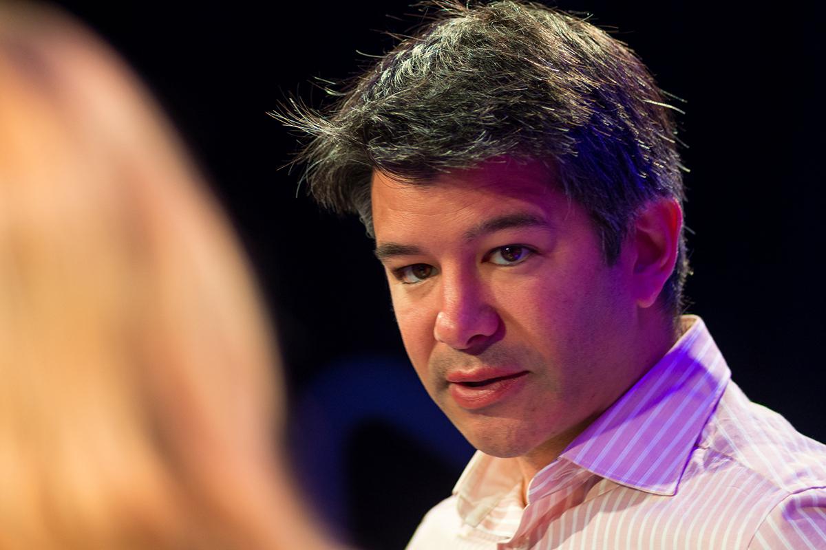 Bývalý CEO Uberu, Travis Kalanick