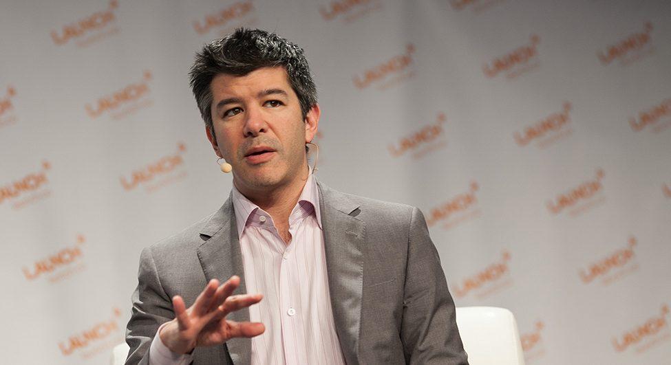 CEO a spoluzakladatel Uberu, Travis Kalanick