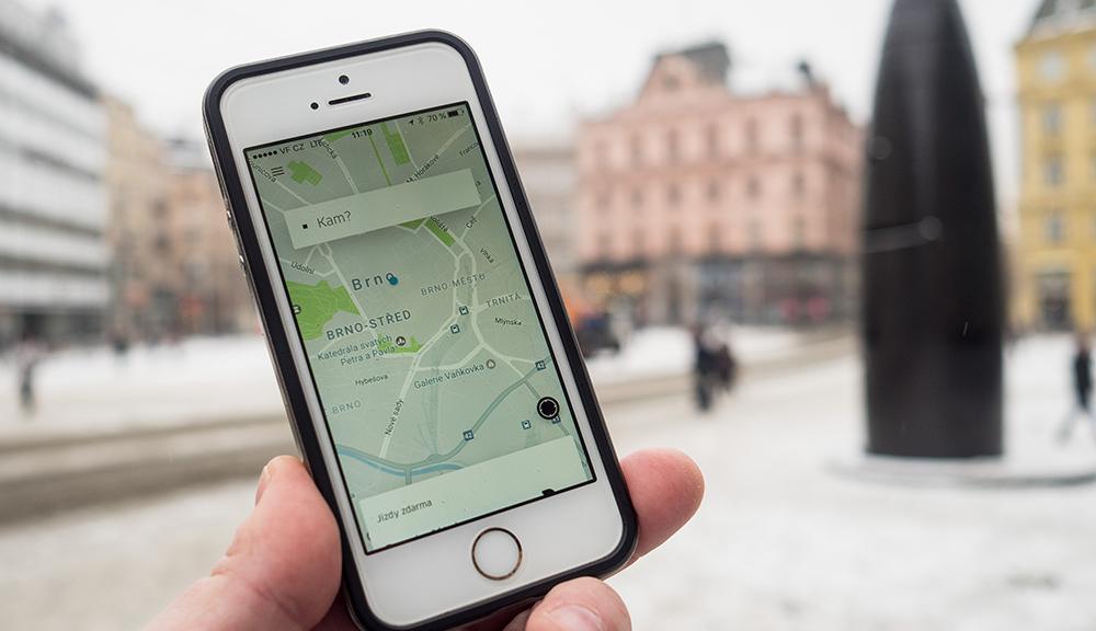 Uber dostal zákaz k provozování veškerých služeb na území Brna