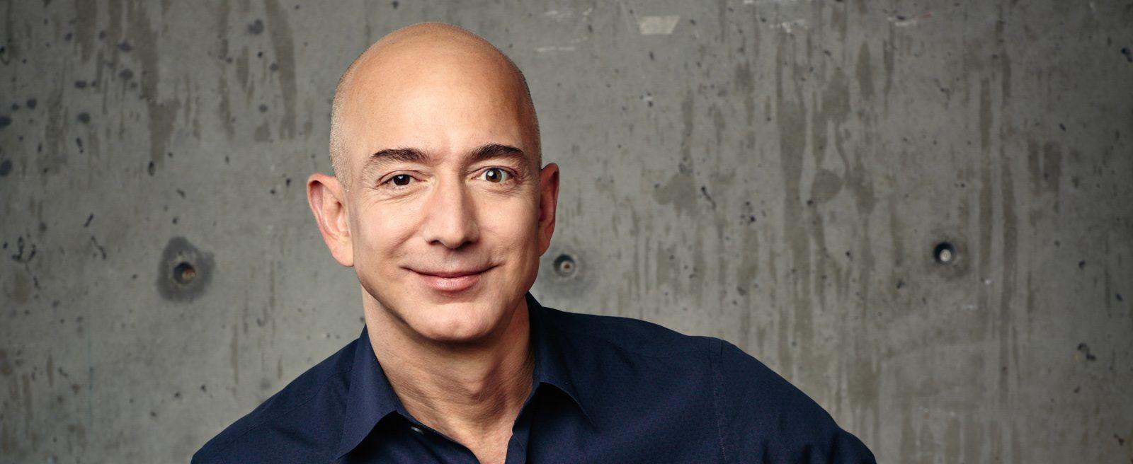 Jeff Bezos, zakladatel a výkonný ředitel společnosti Amazon