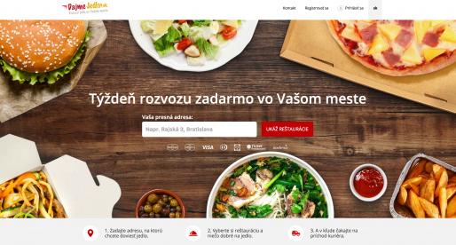Slovenská verze rozvozové služby Damejidlo.cz končí a spojí se s konkurencí