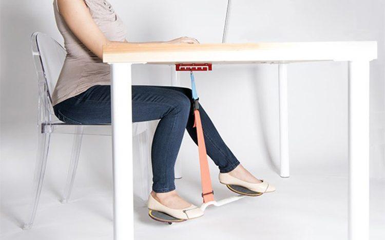 Tento gadget, který připevníte ke stolu, slibuje rapidní zvýšení vaší produktivity a spálení kalorií