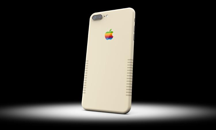Takto vypadá iPhone v barvách původního počítače Mac za necelých 48 tisíc korun