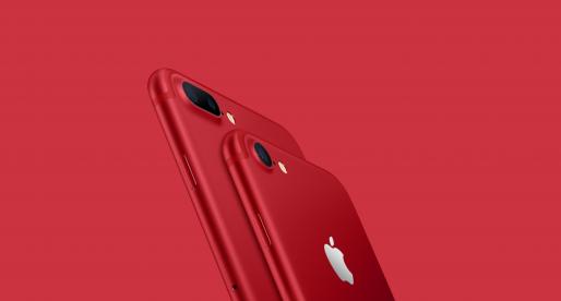 Takto vypadá nová červená edice iPhonu 7, která se objeví v Česku již za 3 dny