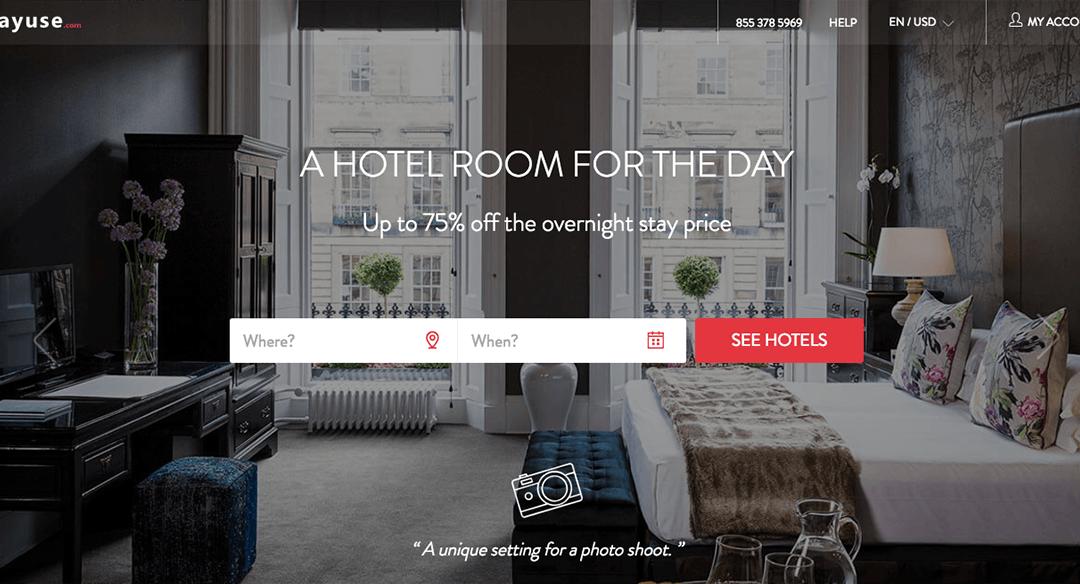 Tento cestovatelský startup vám umožní ubytovat se přes den v luxusních hotelech za zlomek ceny