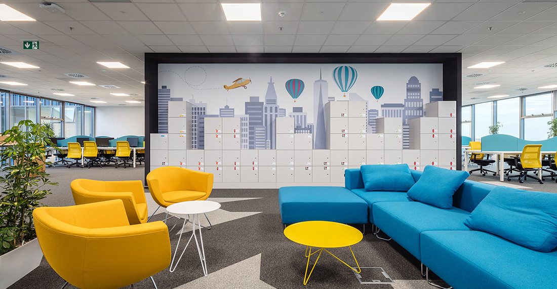 Kanceláře Kiwi.com v Brně