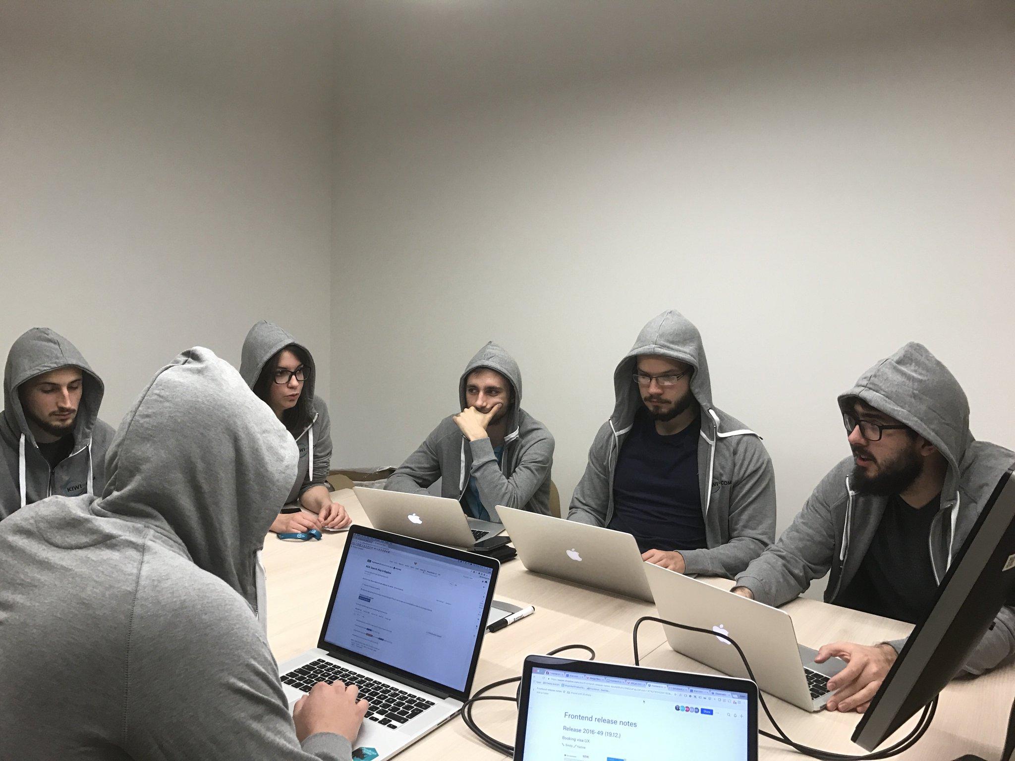 Tým vývojářů v brněnském Kiwi.com