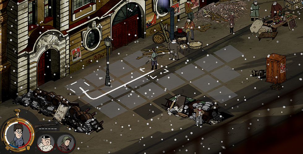 Česká indie hra z prostředí ruské občanské války míří na Kickstarter, kde chce získat 65 tisíc euro