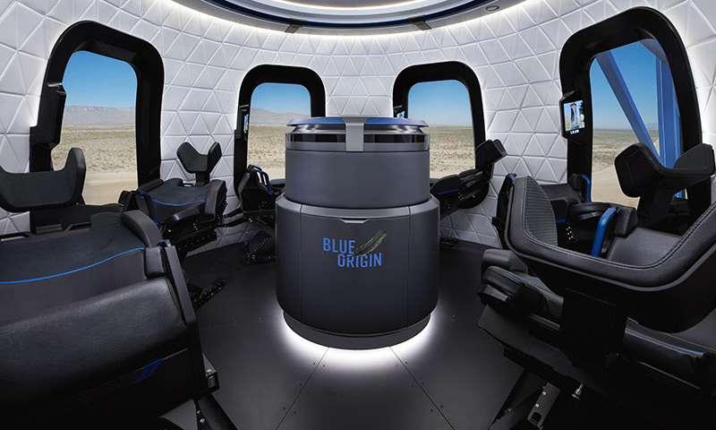 Pohled na modul pro cestující