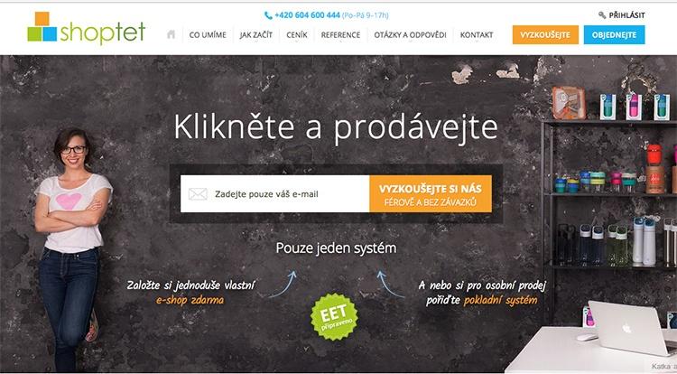 Česká e-commerce platforma Shoptet dosáhla loni obratu ve výši 48,2 milionů Kč
