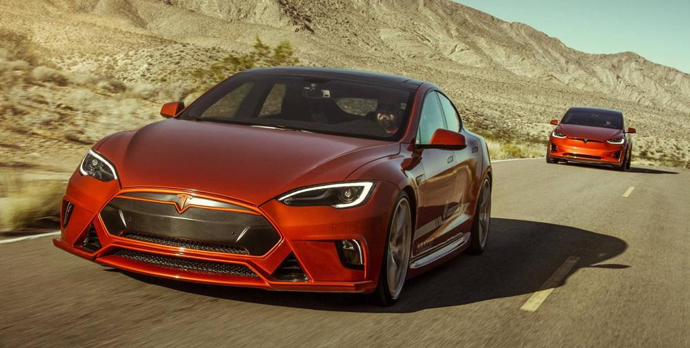 Kalifornská firma provádí jako jedna z prvních sportovní tuning elektromobilů Tesla