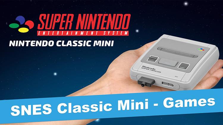 Nintendo začne letos prodávat remake legendární retro konzole SNES