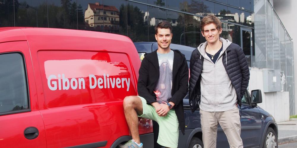 Český startup Gibon Delivery přiveze objednávku z e-shopu v čase a na místo, které si sami určíte