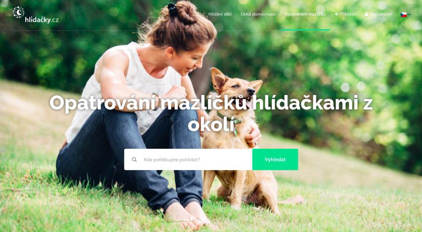 Brněnský startup Hlidacky.cz spouští novou službu na venčení psů a hlídání zvířat