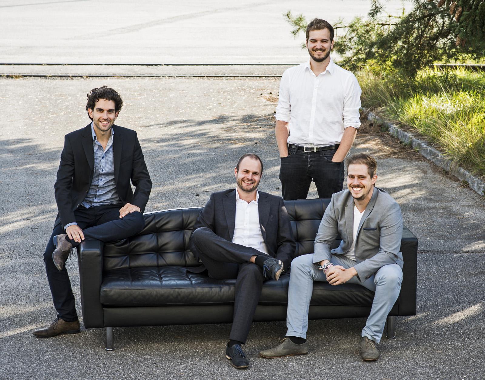 Spoluzakladatelé Lilium Daniel Wiegand, Sebastian Born, Patrick Nathen a Matthias Meiner
