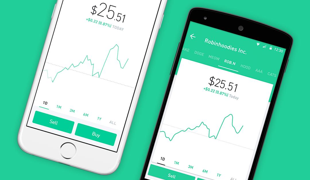 Fintech startup Robinhood získává investici ve výši 350 milionů dolarů při valuaci 5,6 miliardy