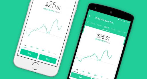 Fintech startup Robinhood získává investici ve výši 350 milionů dolarů při valuaci 5,6 miliard