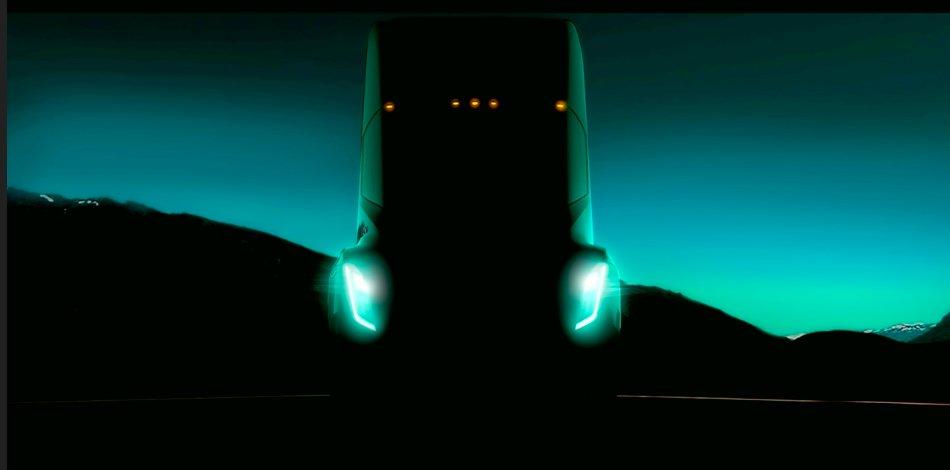 Elon Musk odhalil první fotografii elektrického nákladního automobilu a rozšíření Gigafactory