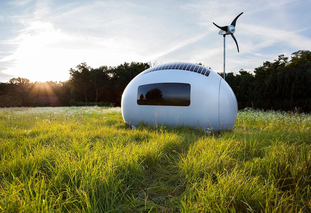 Jeden z proinvestovaných projektů, Ecocapsule