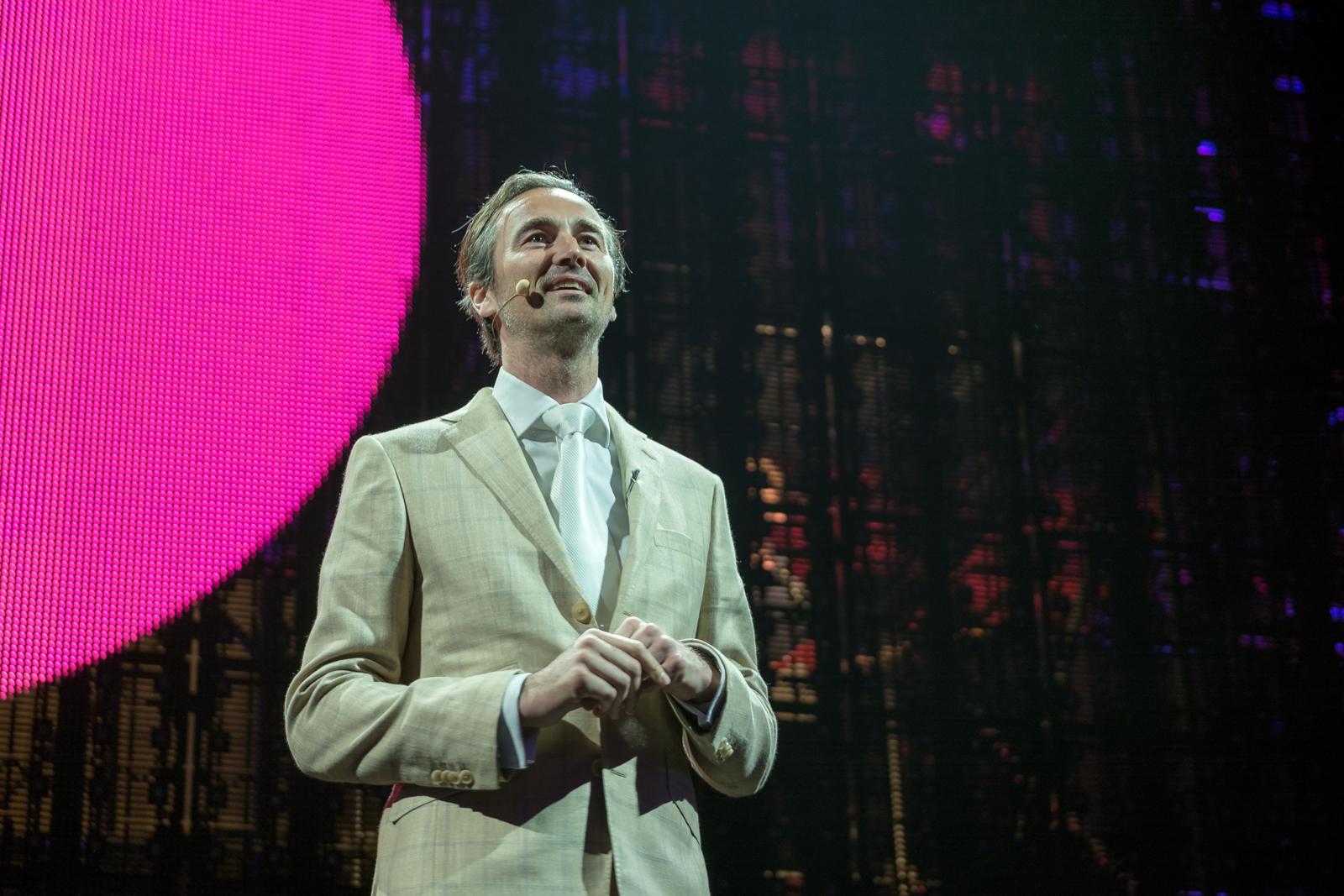 Boris Veldhuijzen van Zanten, CEO The Next Web při úvodní řeči