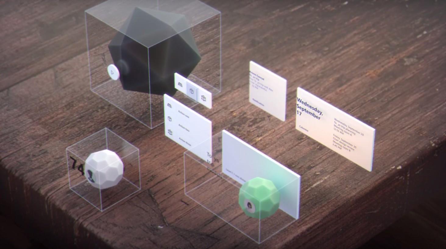 Virtuální prostředí Hololens