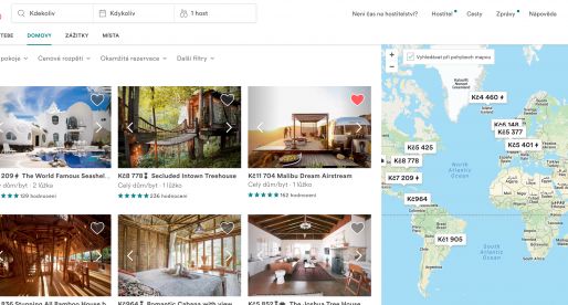 Tento nástroj vám řekne, za kolik byste měli v jaké lokalitě pronajímat svůj byt na Airbnb
