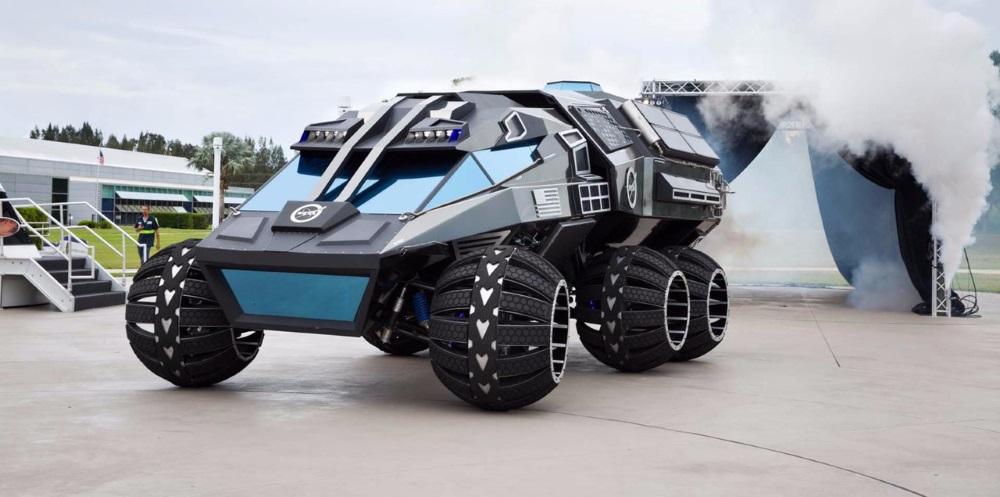 Takto by mohlo vypadat vozidlo od NASA, které bude vozit lidi na Marsu