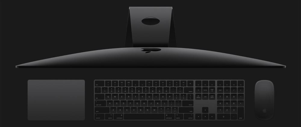 Apple začíná samostatně prodávat tmavou klávesnici a myš, které byly výsadou iMacu Pro
