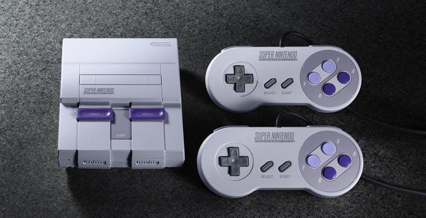 Nintendo za 2 měsíce začne prodávat remake kultovní herní konzole SNES
