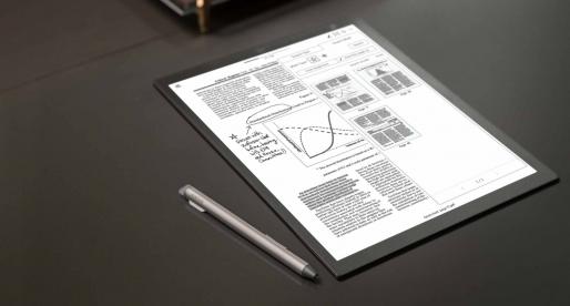 Tohle je nový tablet od Sony, který vydrží 3 týdny bez nabíjení a napodobuje povrch papíru