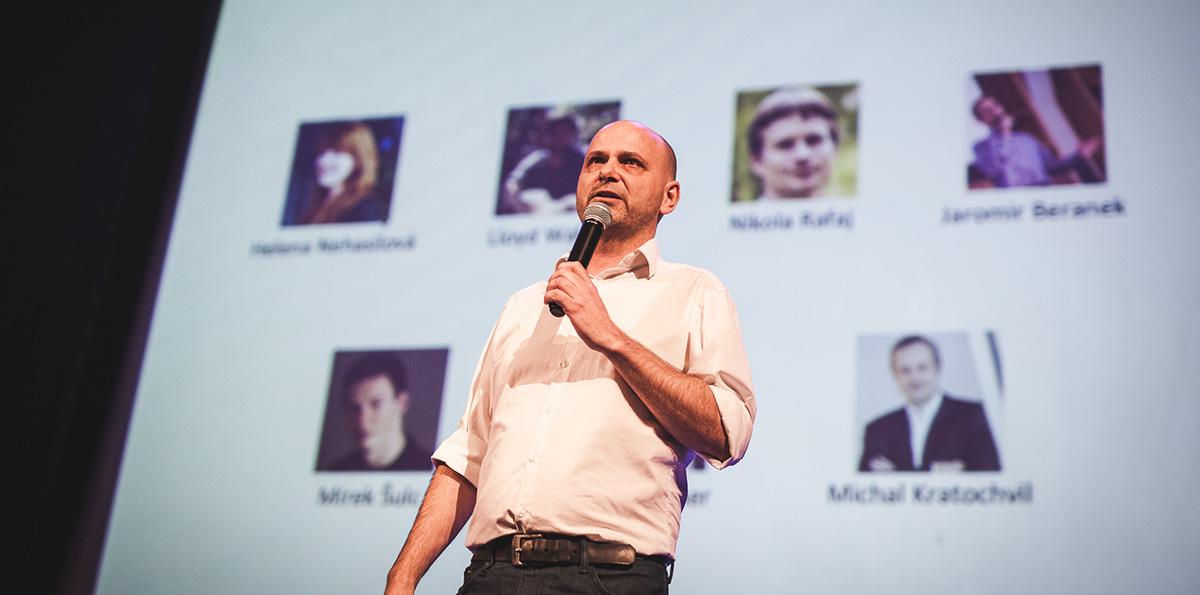 Ředitel StartupYardu, Cedric Maloux