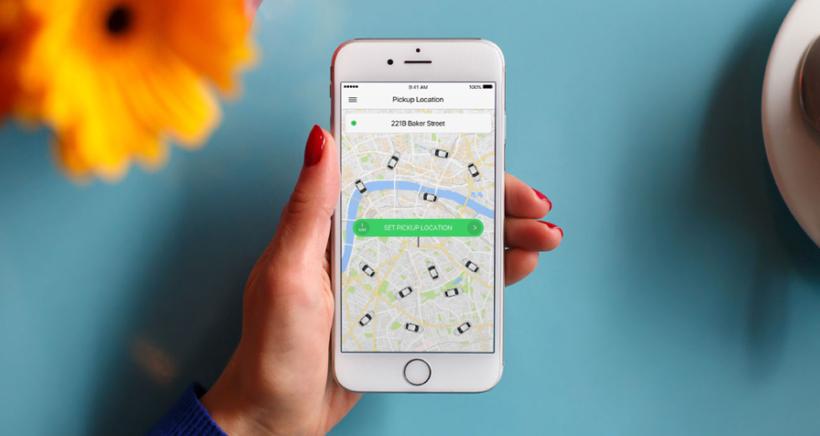 1. Taxify app