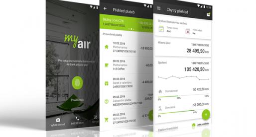 Air Bank redesignovalo svou mobilní aplikaci, do které přidá podporu Touch ID