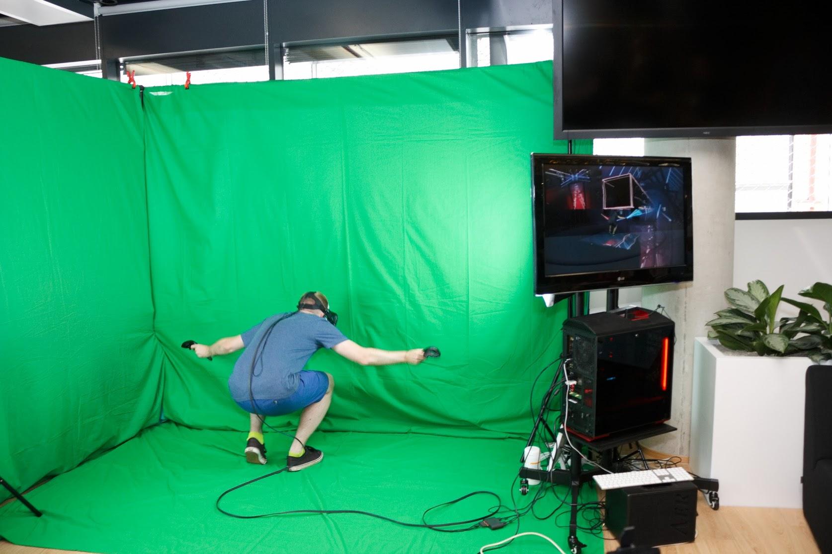 demo VR hry Beat Saber od Jána Ilavského