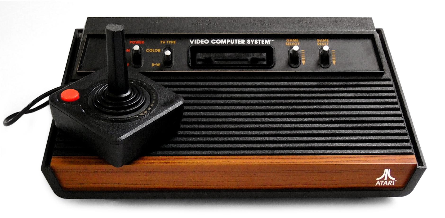 Původní konzole Atari 2600