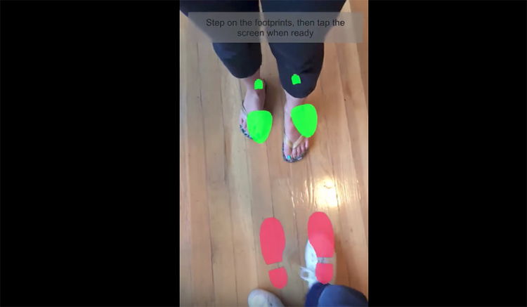 Tato nová aplikace vás naučí díky rozšířené realitě tancovat
